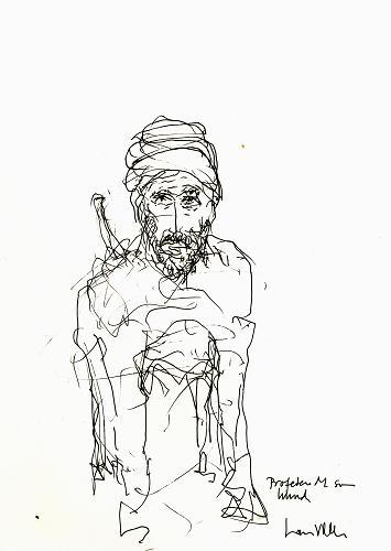 Lars Viks - Karikatura Proroka Muhameda