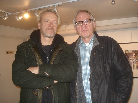 Lugn vernissage for lars vilks
